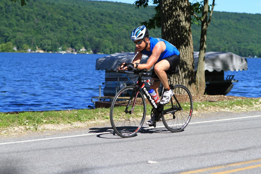 Rodrigo at Syracuse 70.3