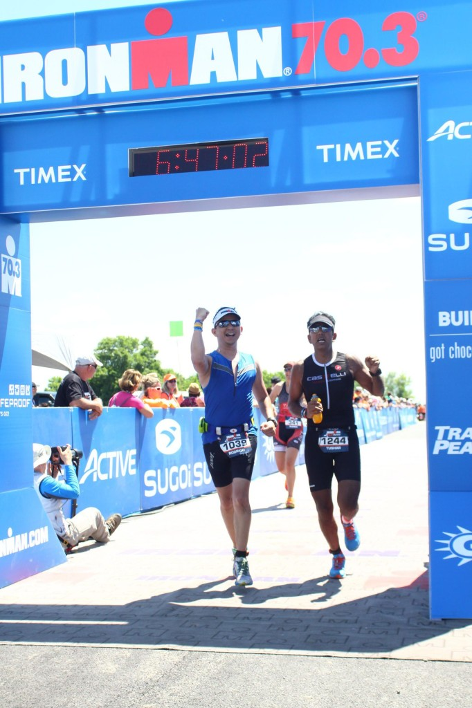 Rodrigo Finishing Syracuse 70.3
